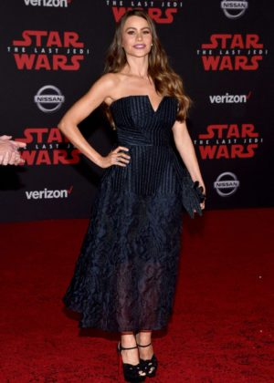 Sofia Vergara - Star Wars: The Last Jedi Premiere