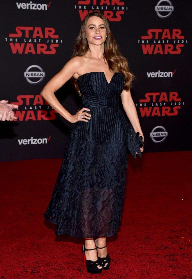 Sofia Vergara - Star Wars: The Last Jedi Premiere