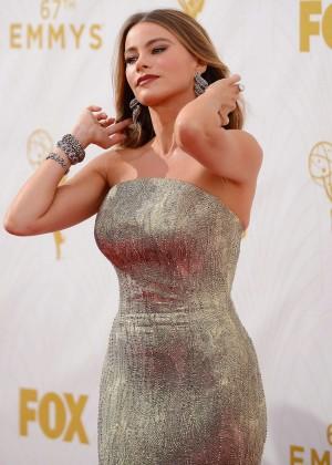 Sofia Vergara - 2015 Emmy Awards in LA