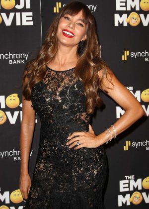 Sofia Vergara - 'The Emoji Movie' Screening in New York