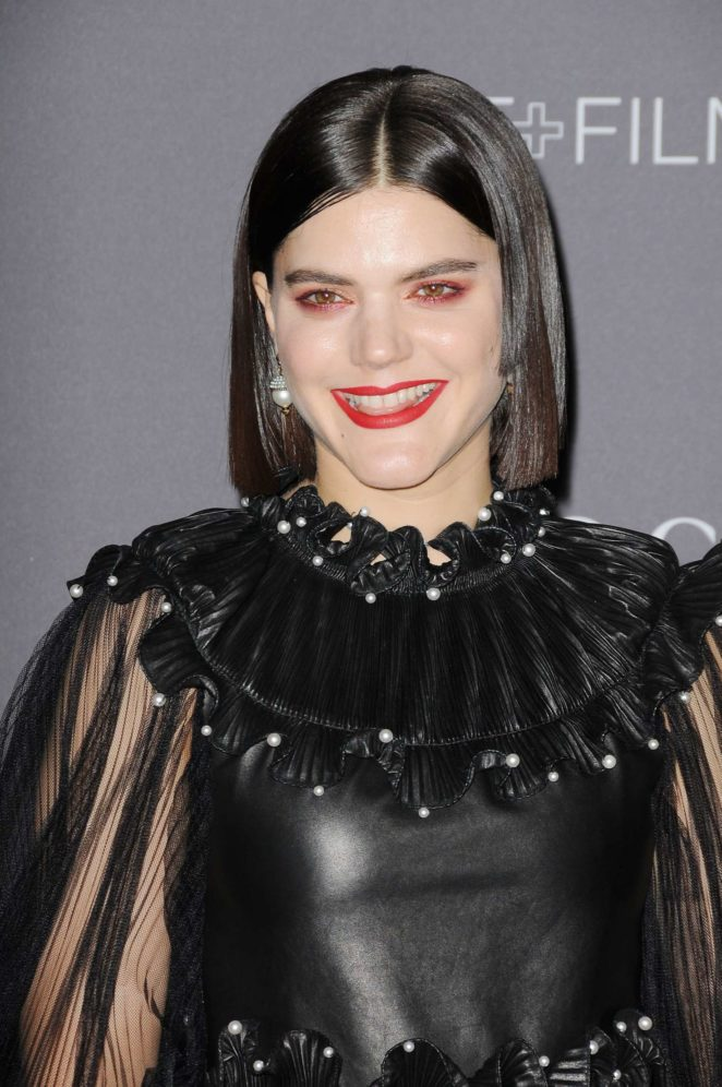 Soko - 2017 LACMA Art and Film Gala in Los Angeles