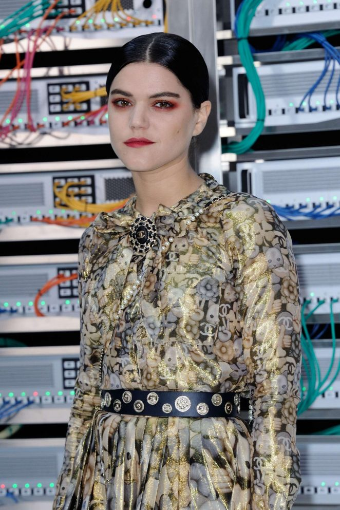 Soko - Chanel Show Spring Summer 2017 in Paris