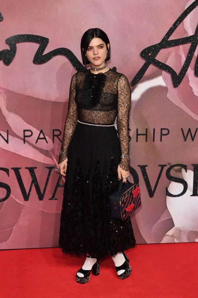 Soko - The Fashion Awards 2016 in London