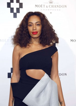 Solange Knowles - The Tiger Bottle Collection in NYC