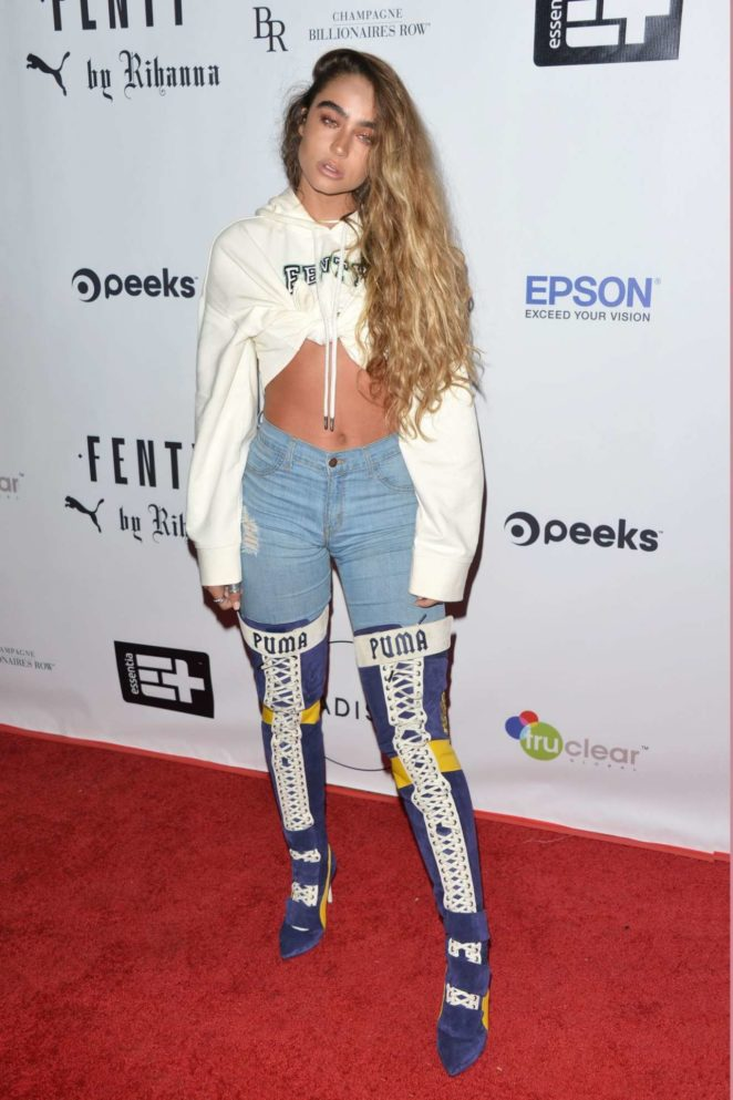 Sommer Ray – FENTY Puma Launch 2017 in Beverly Hills