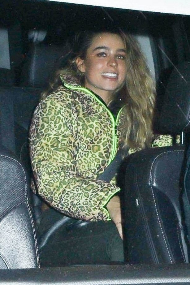 Sommer Ray - is all smiles with a mystery guy in Los Angeles