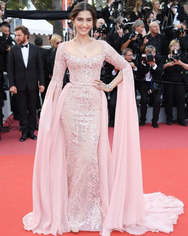 Sonam Kapoor - 'The Meyerowitz Stories' Premiere at 70th Cannes Film Festival