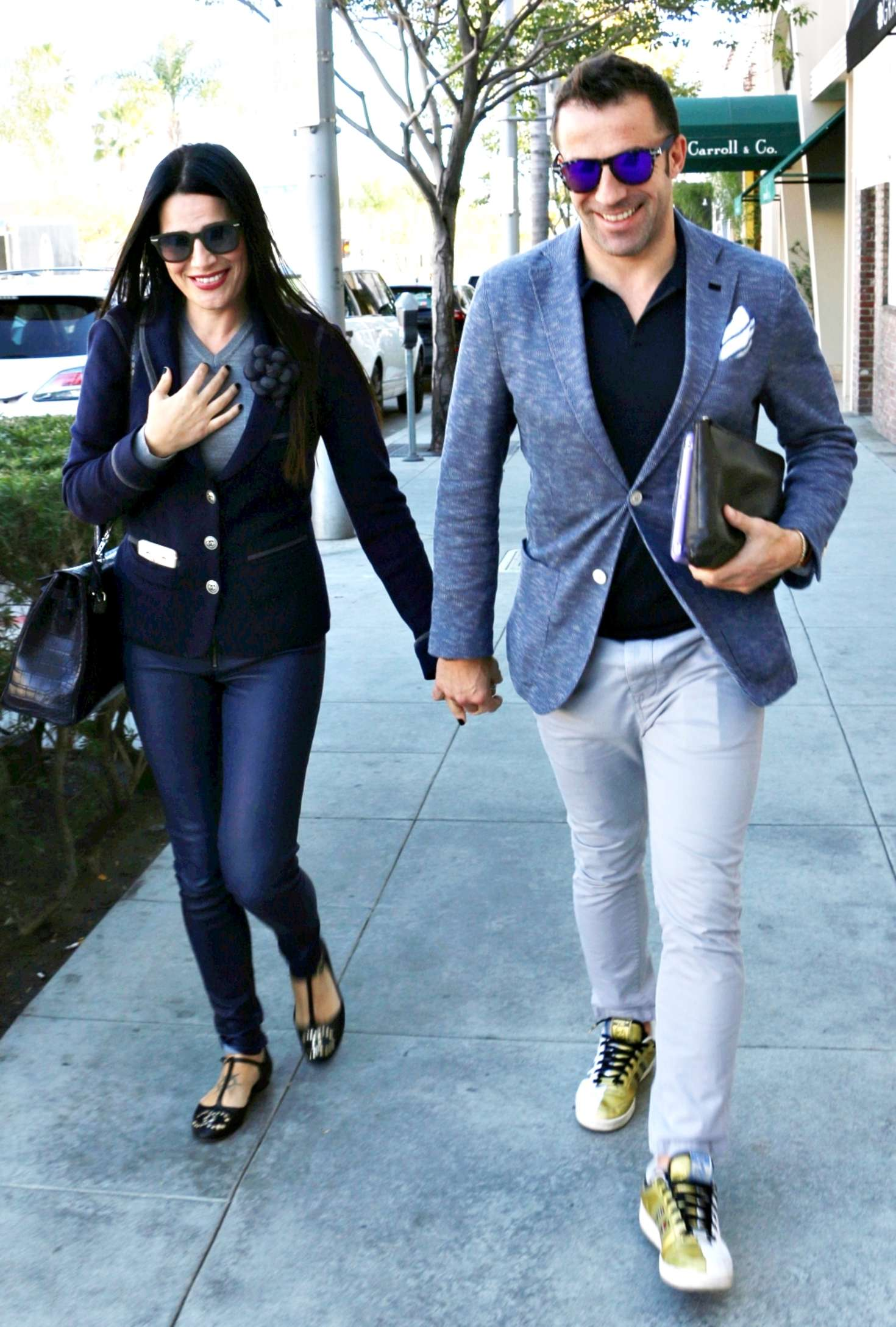 Sonia amoruso with husband alessandro del piero out in los for Alessandro del piero sonia amoruso