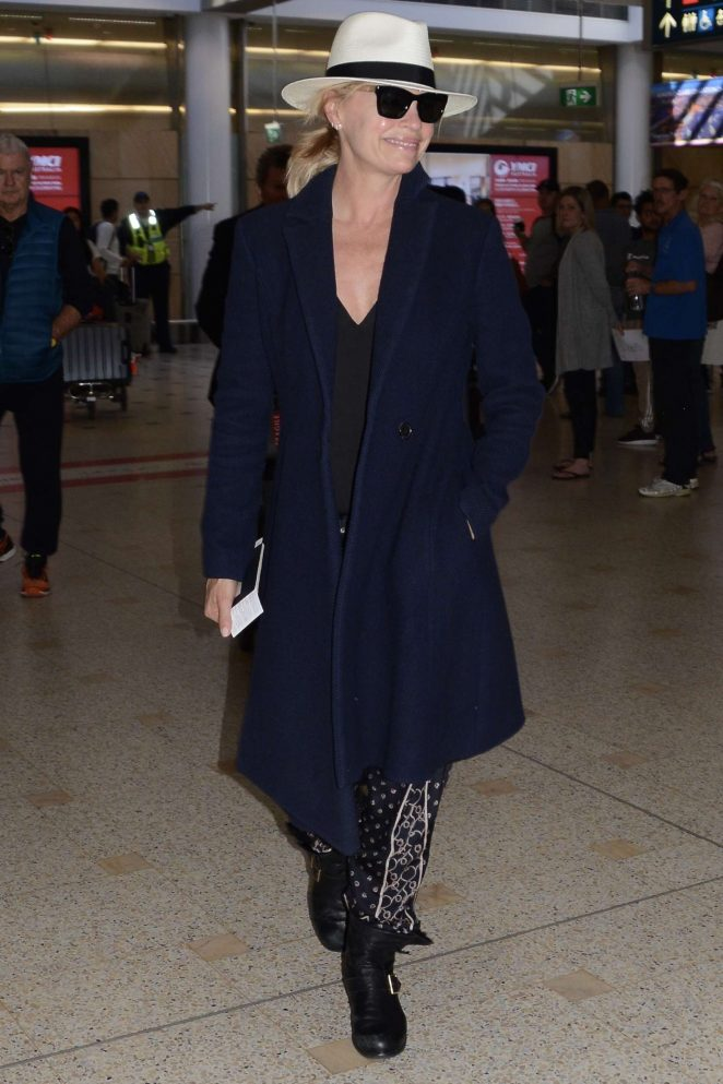 Sonia Kruger – Arrives at Airport in Sydney
