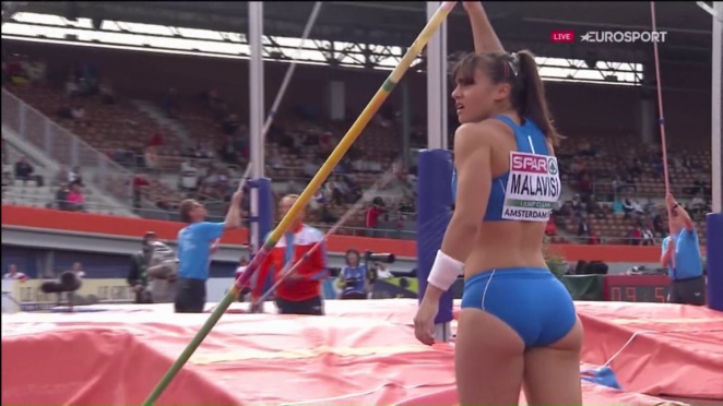 Sonia Malavisi - Euro Athletics Champs 2016 in Amsterdam