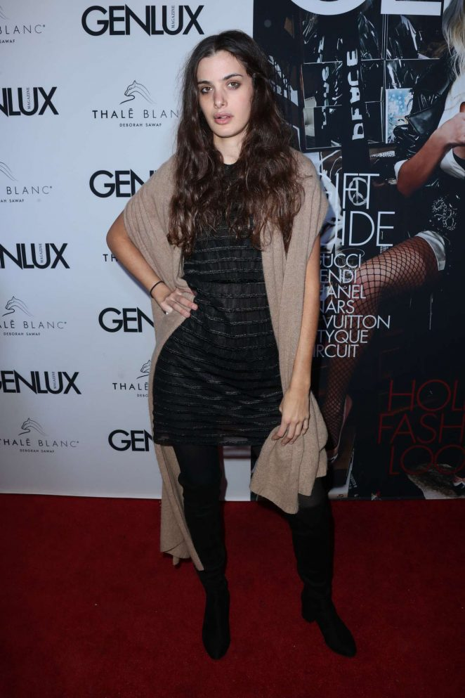 Sonja Kinski - Genlux Holiday Issue Magazine Party in West Hollywood