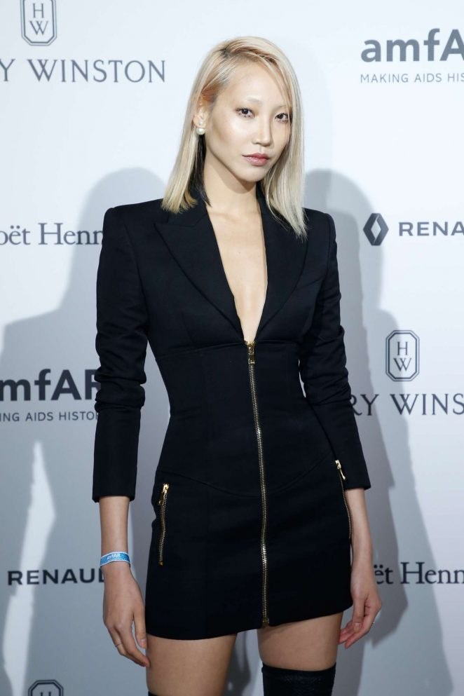 Soo Joo Park - 2017 amfAR Gala Haute Couture Fashion Week in Paris