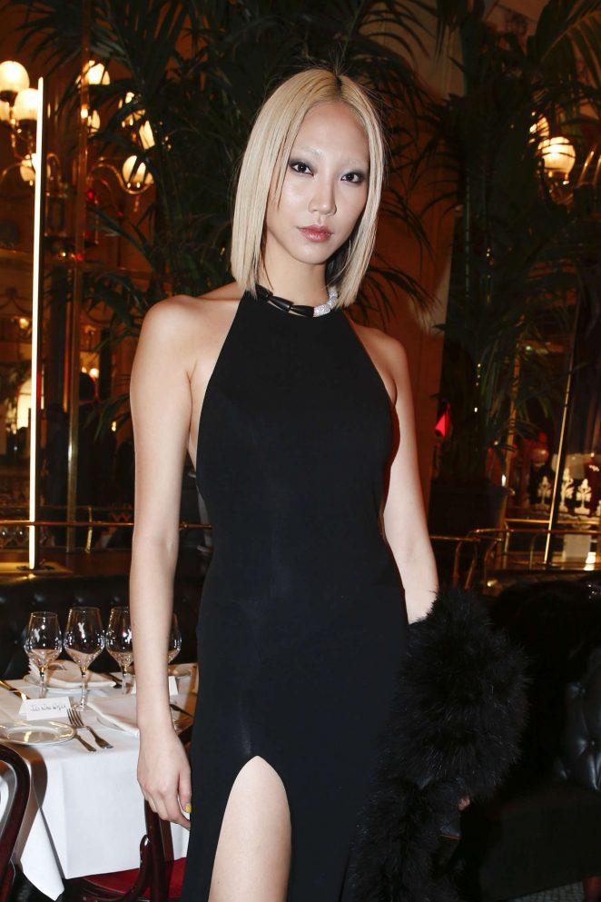 Soo Joo Park at L'Oreal Paris Dinner Hosted By Julianne Moore in Paris