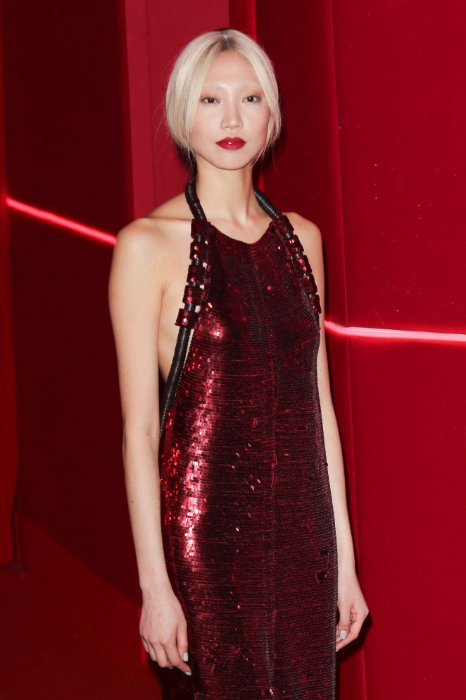 Soo Joo Park - Attends at L'Oreal Red Obsession Party 2016 in Paris
