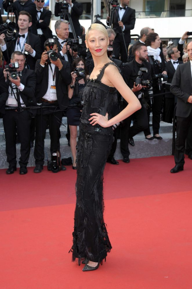 Soo Joo Park: The Unknown Girl Premiere at 2016 Cannes Film Festival -12