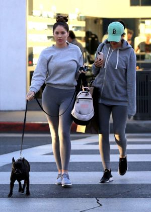 Sophia and Olivia Pierson - Shopping in Beverly Hills