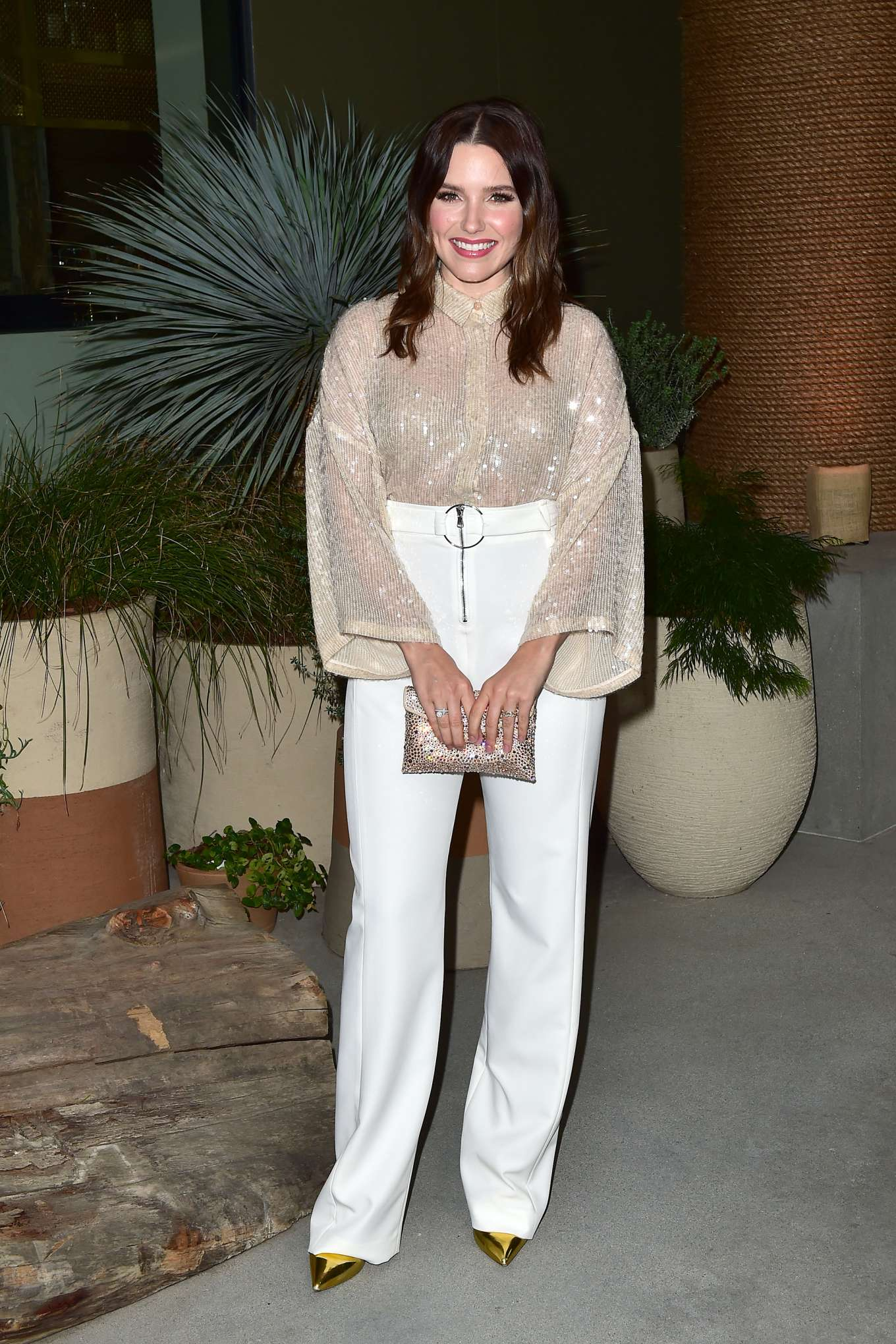Sophia Bush - 1 Hotel West Hollywood Preview Dinner hosted by Barry Sternlicht
