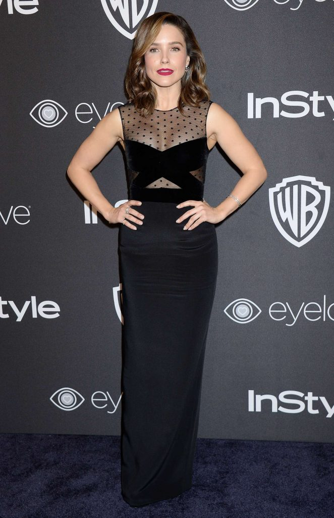 Sophia Bush – 2017 InStyle and Warner Bros Golden Globes After Party in LA