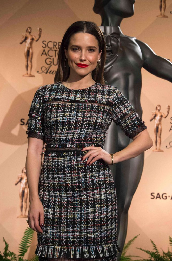Sophia Bush - 23rd Screen Actors Guild Awards Nominations in West Hollywood