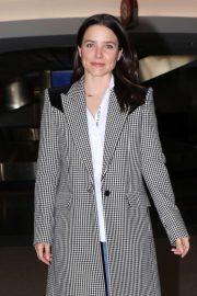 Sophia Bush - Arrives at LAX International Airport in LA