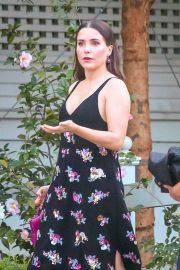 Sophia Bush - Arrives for dinner in West Hollywood