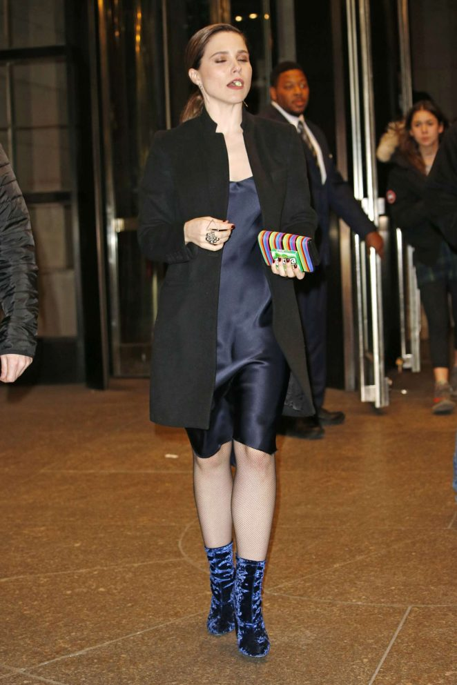 Sophia Bush at Four Seasons Hotel in New York City