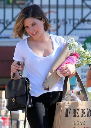 Sophia Bush at Whole Foods in West Hollywood