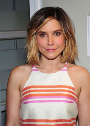 Sophia Bush - Backstage at the Rachael Ray show in New York City