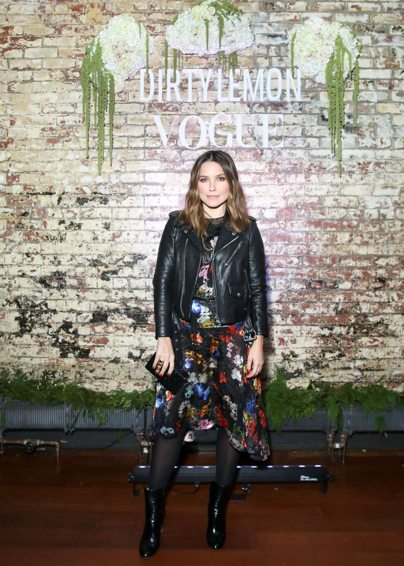 Sophia Bush - DIRTY LEMON x Vogue Launch in New York City