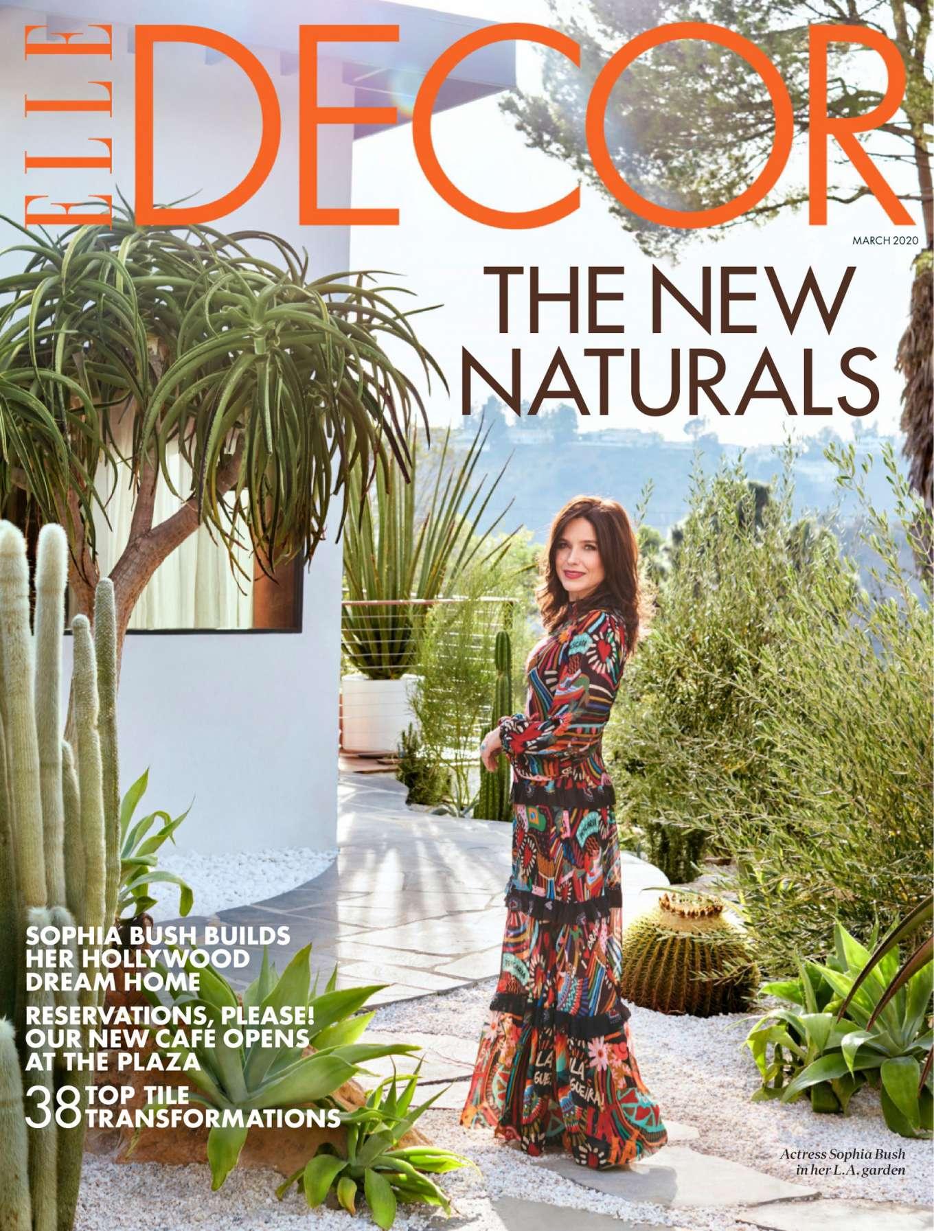 Sophia Bush - Elle Decor US Magazine (March 2020)
