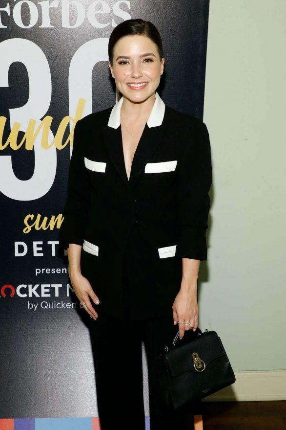 Sophia Bush - Forbes 30 Under 30 Summit 2019 in Detroit