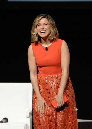 Sophia Bush - Glamour 'The Power Of An Educated Girl' Panel in NYC