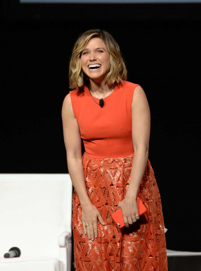 Sophia Bush – Glamour 'The Power Of An Educated Girl' Panel in NYC
