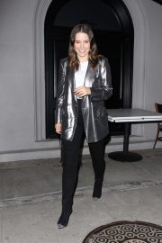 Sophia Bush - Having dinner at Craig's in West Hollywood