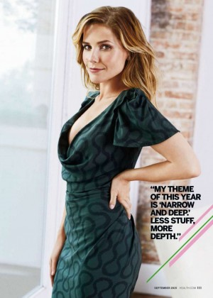 Sophia Bush - Health Magazine (September 2015)