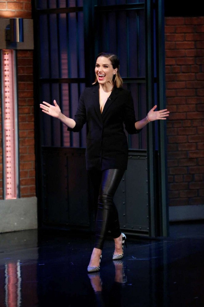 Sophia Bush - 'Late Night with Seth Meyers' in NYC