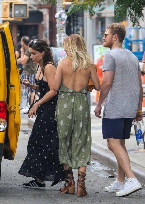 Sophia Bush - Leaves Her Hotel in New York City