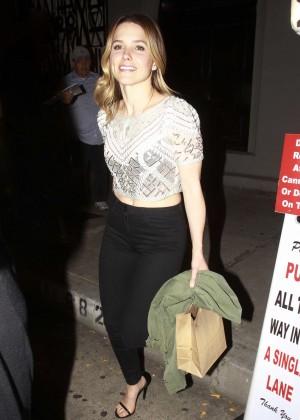 Sophia Bush - Leaving Craig's in West Hollywood