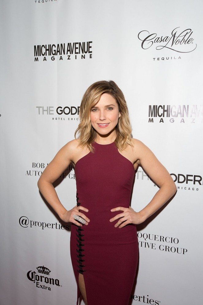 Sophia Bush - Michigan Avenue Magazine's Late Spring Issue Release Celebration in Chicago