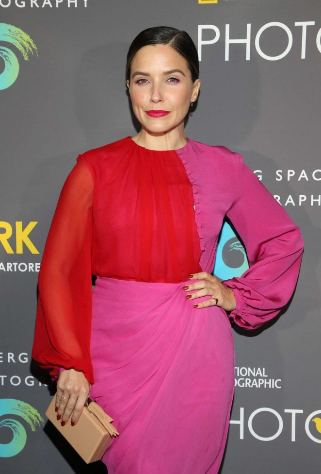 Sophia Bush - 'National Geographic Photo Ark' Exhibition in Los Angeles