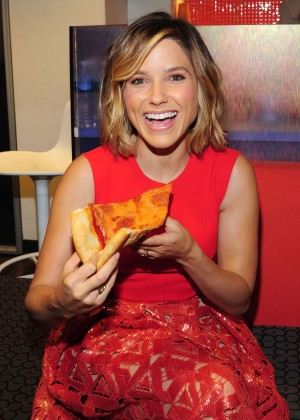 Sophia Bush - NBC Studios in NYC
