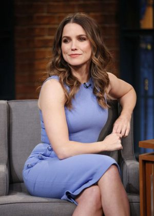 Sophia Bush on 'Late Night with Seth Meyers' in New York City