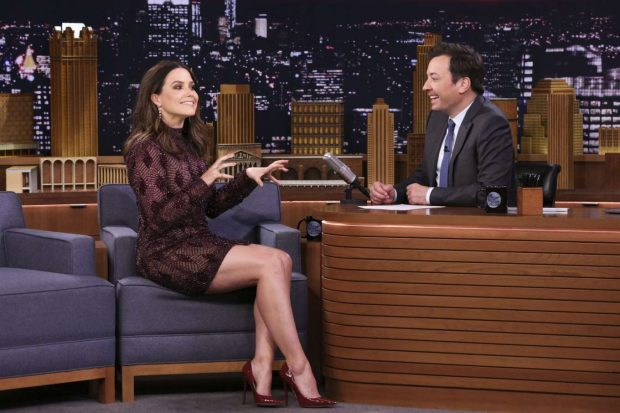 Sophia Bush - On 'The Tonight Show Starring Jimmy Fallon' in NYC