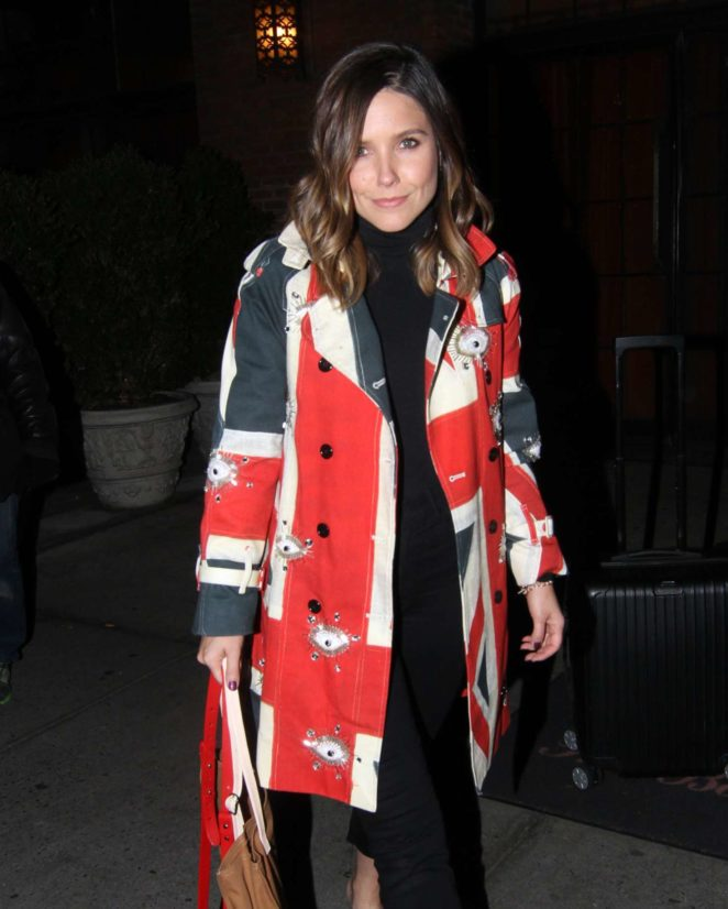 Sophia Bush – Out and about in NYC