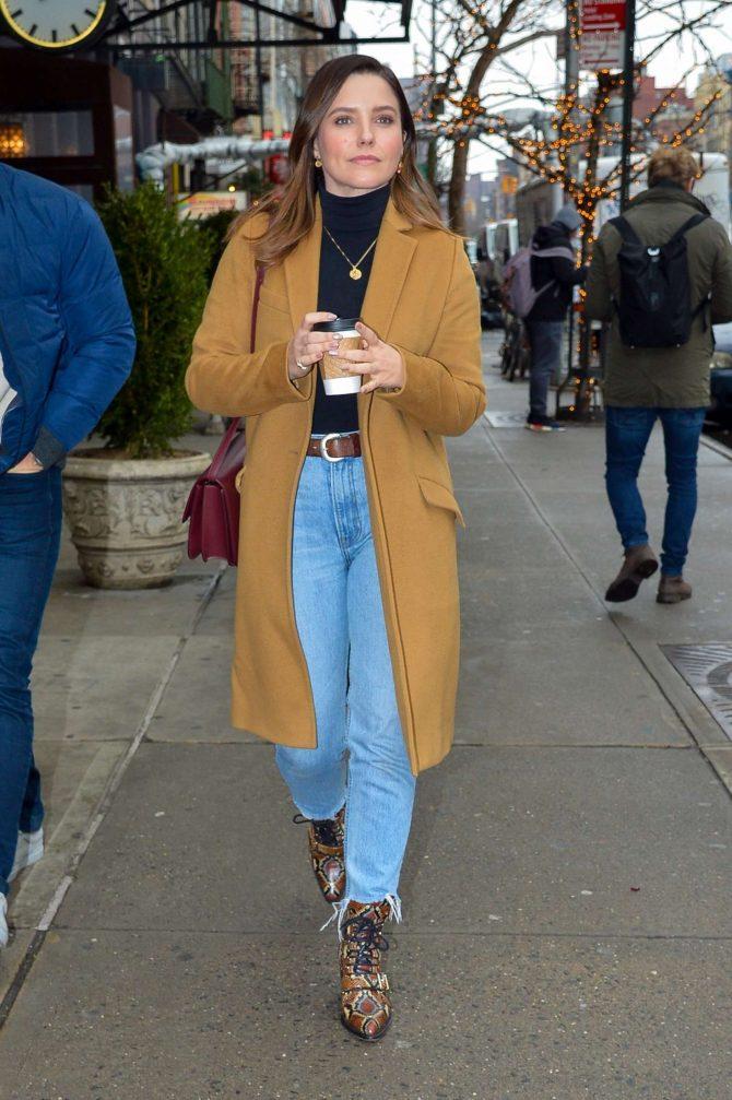 Sophia Bush: Out in New York City -04