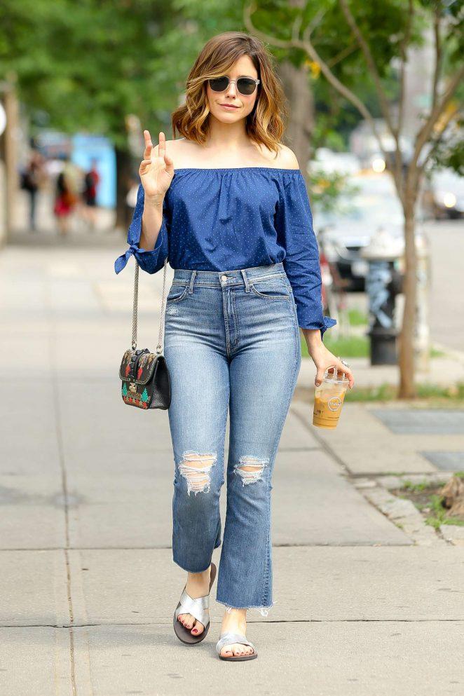 Sophia Bush – Out in New York