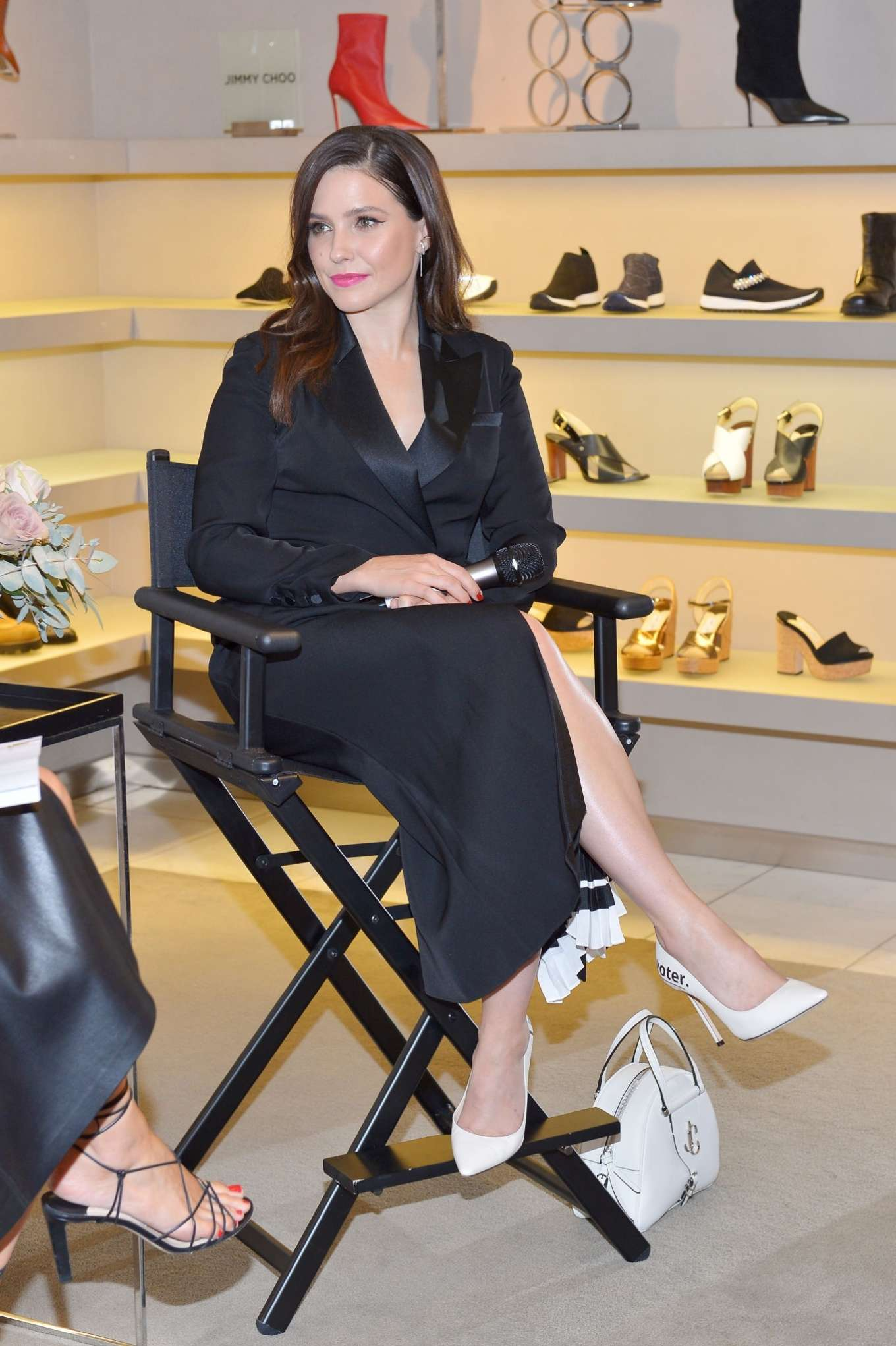 Sophia Bush - Saks Beverly Hills In My Choos Event in Beverly Hills