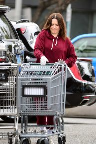 Sophia Bush - Shopping at whole foods in Los Angeles