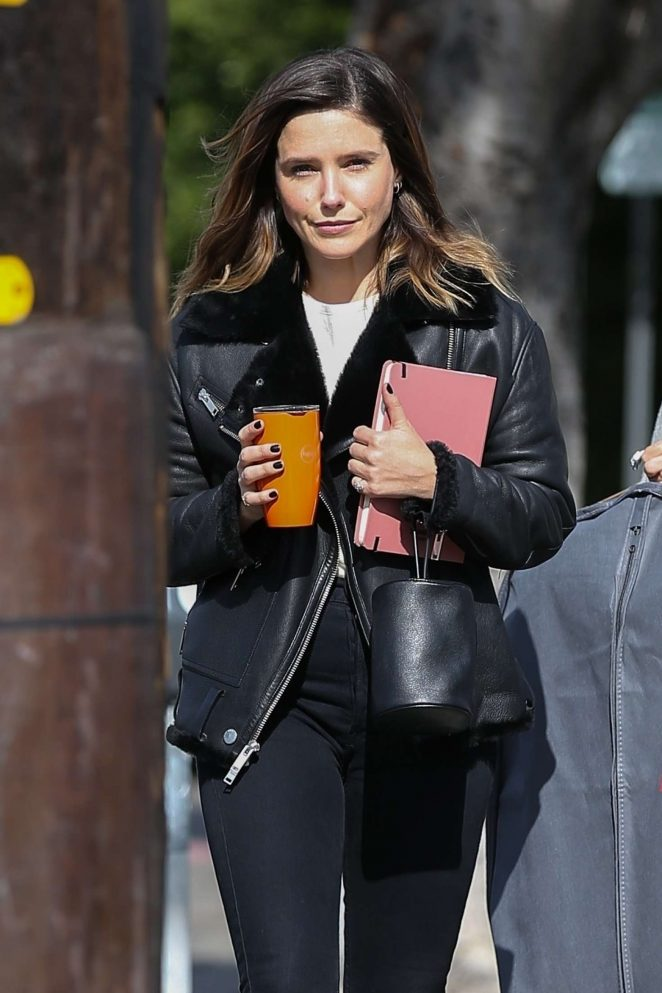 Sophia Bush - Visit to local fashion studio in West Hollywood