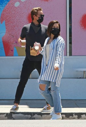 Sophia Bush with new boyfriend Grant Hughes - Out in Venice